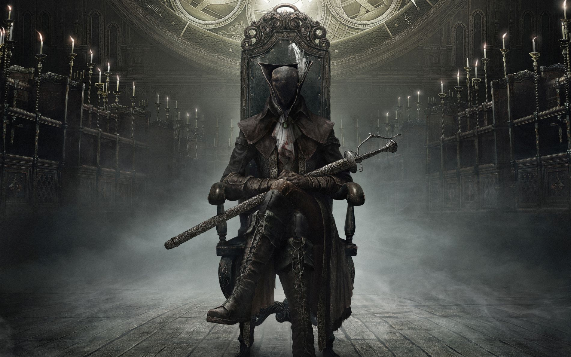 bloodborne the old hunters wide
