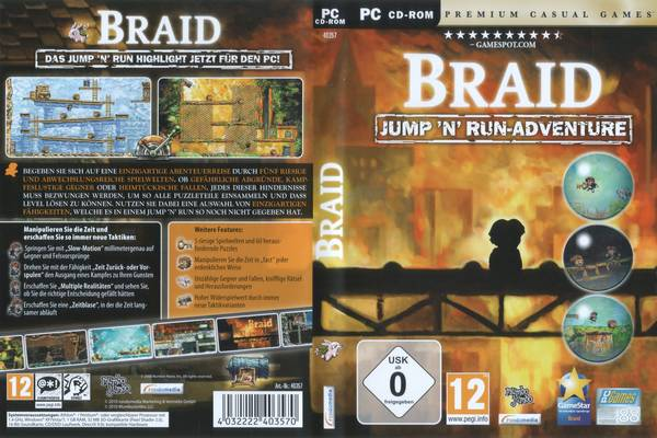 Braid German Front Cover 49004