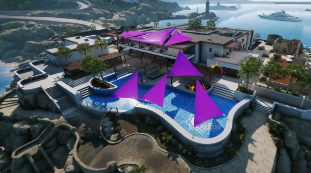 Rainbow Six Siege Coastline Map