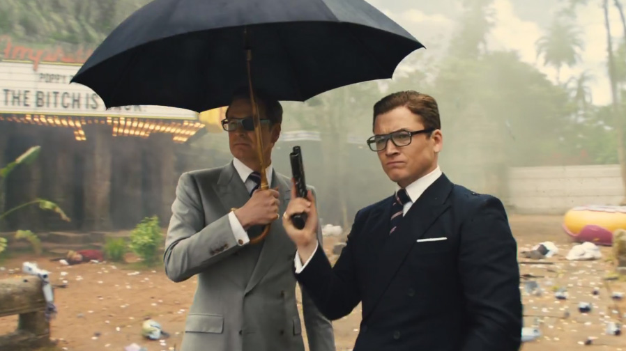 kingsman the golden circle trailer 2 taron egerton colin firth spicypulp