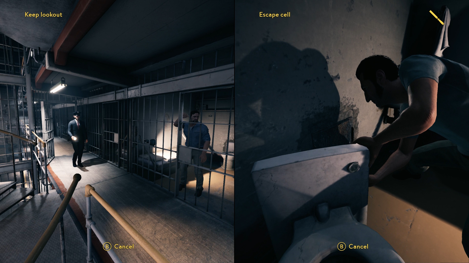 A Way Out Chisel Toilet